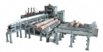 Log cutting saw production line