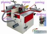 Versatile woodworking machinery